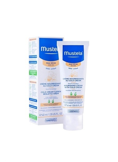 Mustela  Nourishing Cream With Cold Cream Face 40 Ml Renksiz